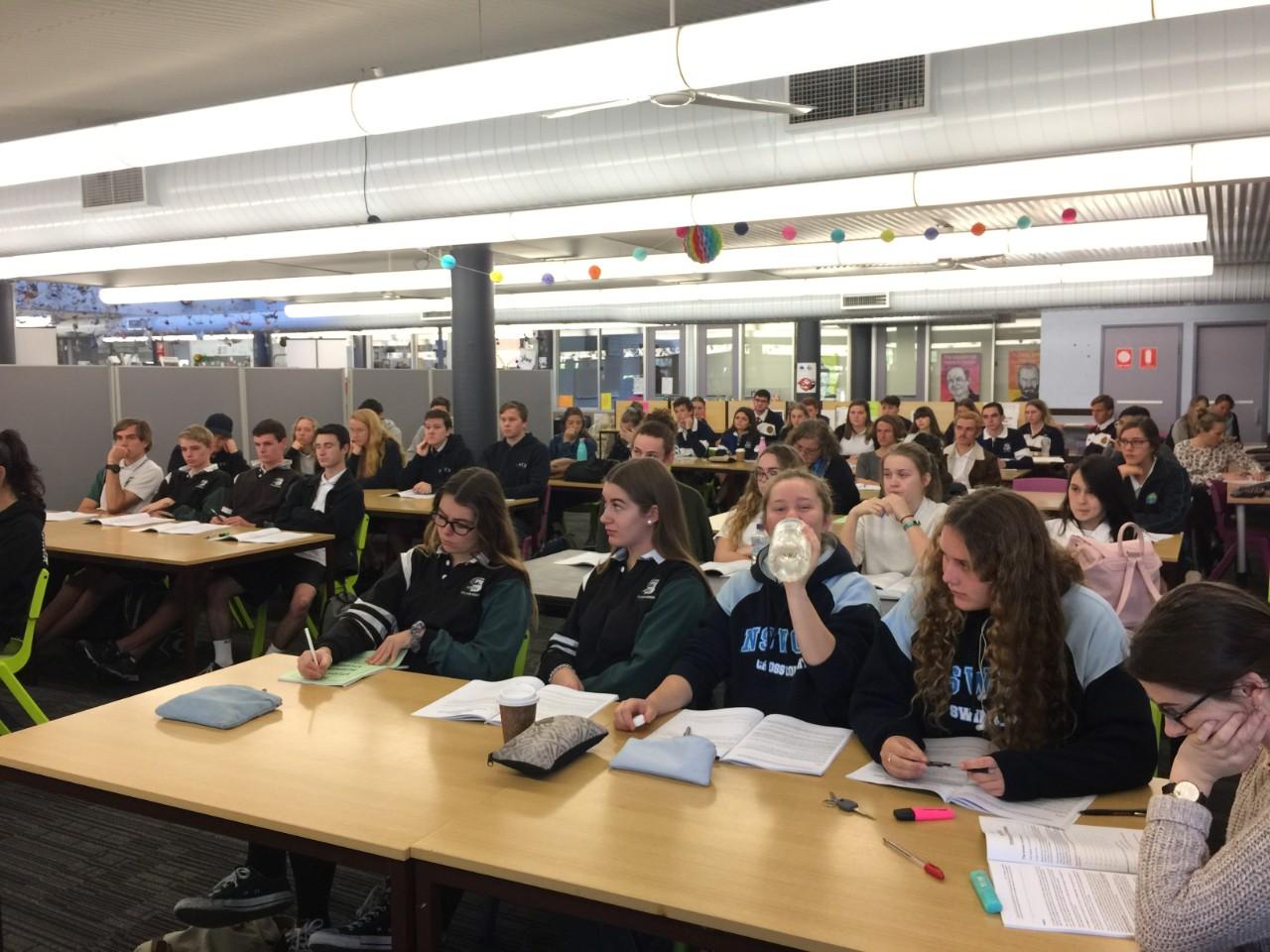 HSC Business Studies day - Maclean High School